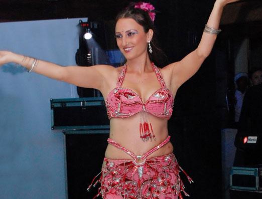 Danza del vientre profesional docente Katie Holland
